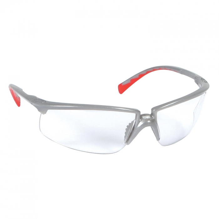 3M Privo Eyewear Silver/Clear