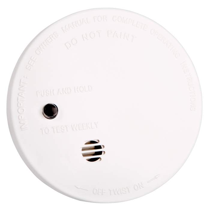 Fire Sentry Battery Operated 4 inch Smoke Alarm