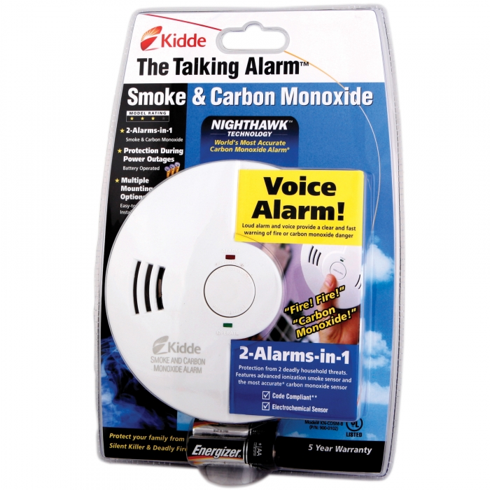Battery Operated Carbon Monoxide and Smoke Alarm