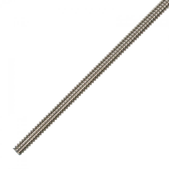 Stainless Steel Threaded Rod - 1/4'' x 3'
