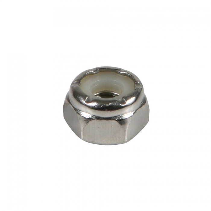 Stainless Nylon Lock Nut - #10