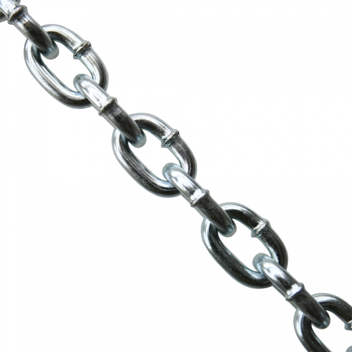 Campbell 3/8 inch Grade 30 Proof Coil Chain, Zinc Plated
