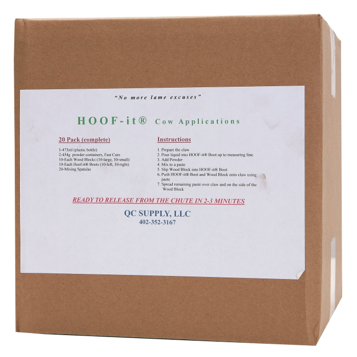 Hoof-It Blocking System - 20 Pack Hoof-It Kit