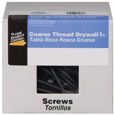 6 x 1 Coarse Thread Drywall Screw - Phillips Drive