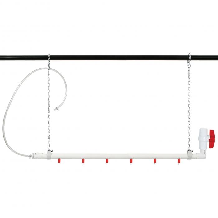 Hanging Tube Waterer - 6 Nipples