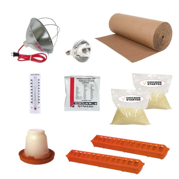 Starter Kit for Chicks - 50 Chick Kit