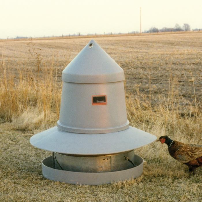 Brower Game Bird Feeder - 125 Pheasants