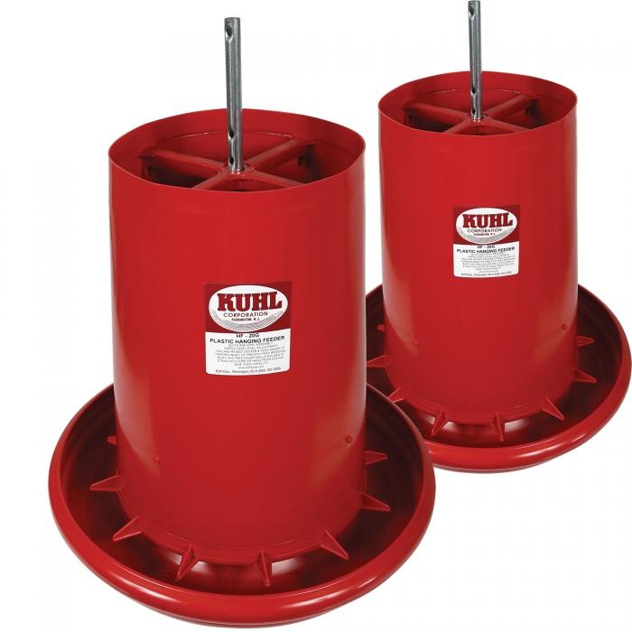 KUHL 35 lb. Hanging Feeder - Set of 2