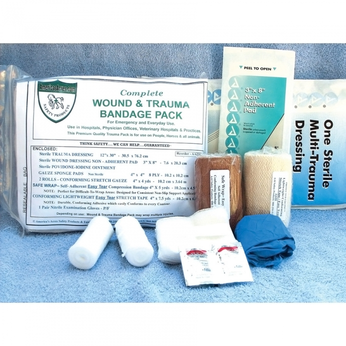 Wound and Trauma Bandage Pack