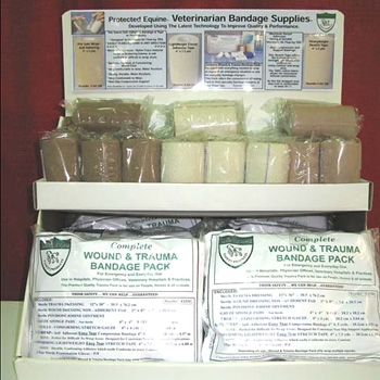 Veterinarian Bandage Supplies