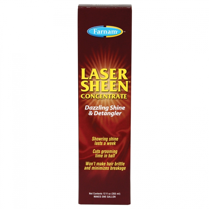Farnam Laser Sheen Dazzling Shine and Detangler Concentrate