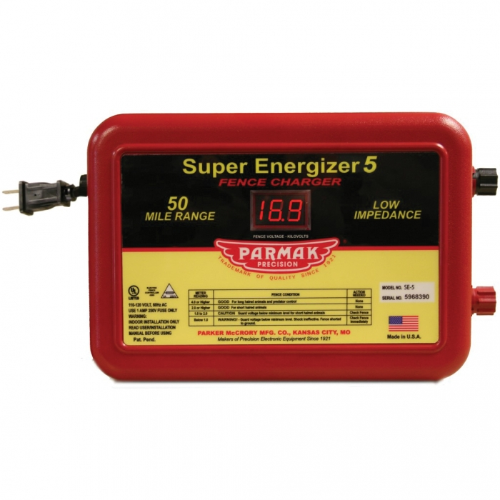 Parmak Super Energizer (Model SE-5)