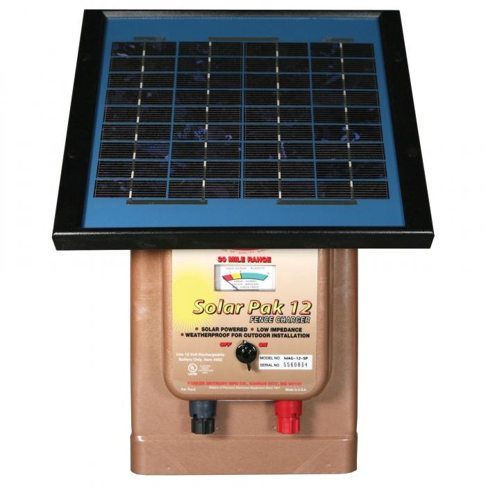 Parmak  MAG12-SP 12V Fencer- Solar/Battery Operated - 30 miles