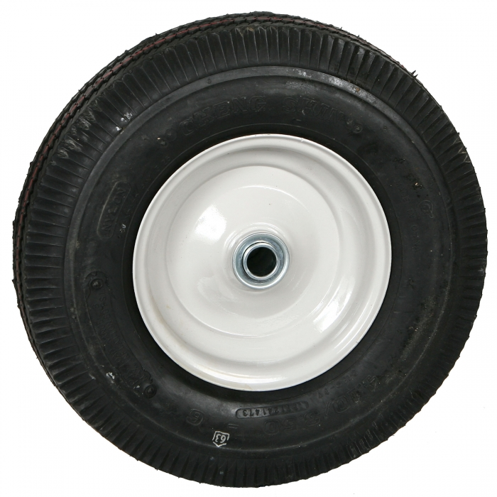 Solid Front Tire for 4-Wheel Carcass Cart - Outside