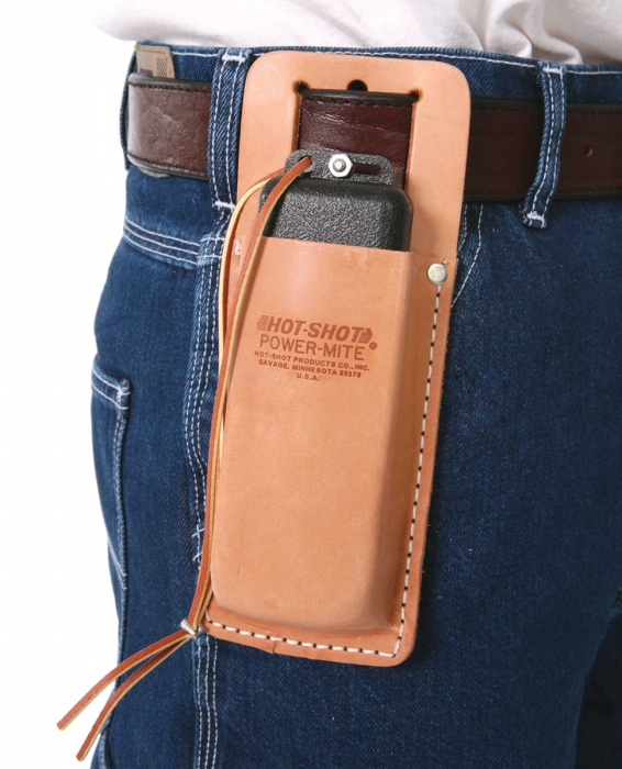Hot Shot Leather Holster for Power-Mite