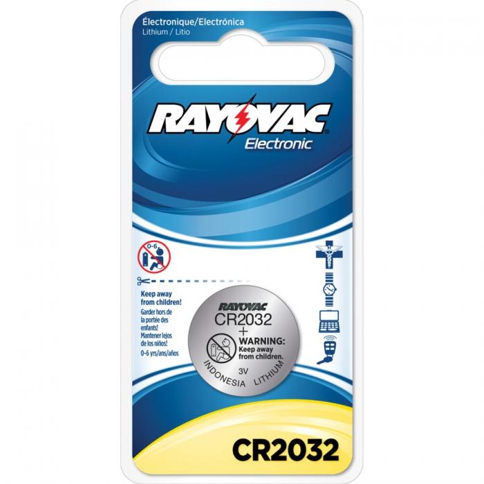 Rayovac Lithium Battery Cr2032 Qc Supply