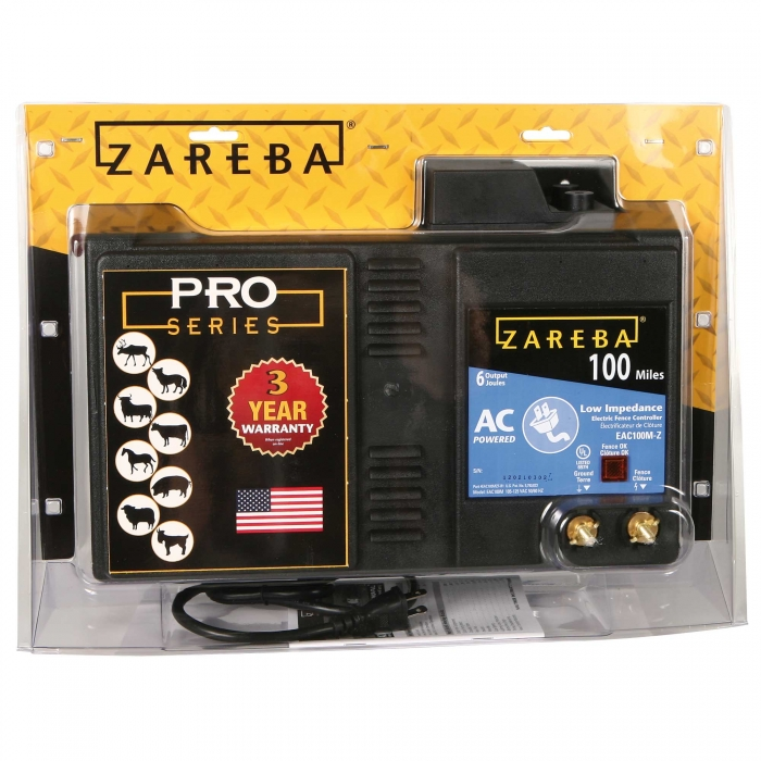 Zareba Ac Low Impedance Charger Qc Supply