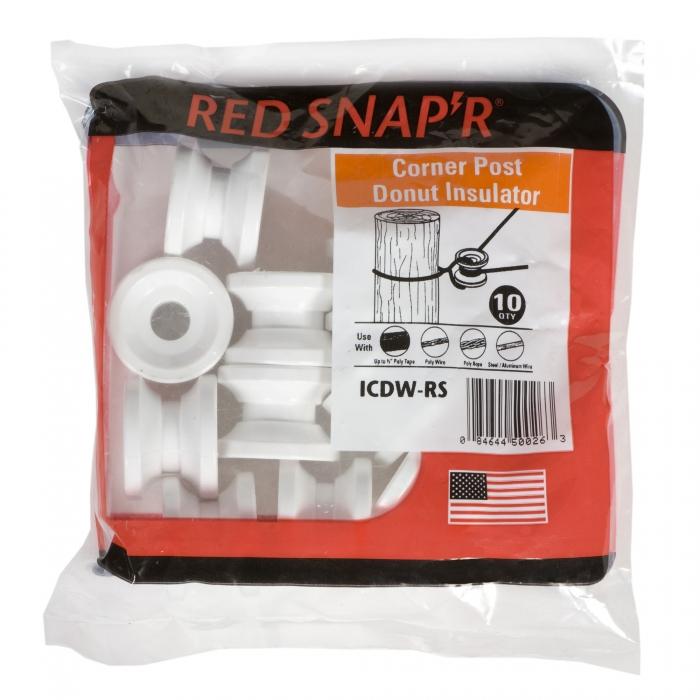 Red Snap'r Corner Donut Insulator