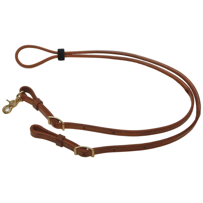 Harness Leather Round Roper and Contest Reins