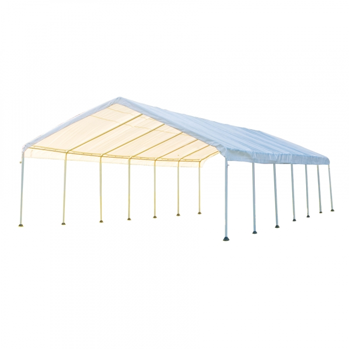 Shelterlogic Super Max 18 X 40 Canopy 14 Leg Qc Supply