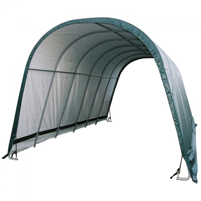 ShelterLogic Round Run-In Shelter - 13' x 24' x 10'