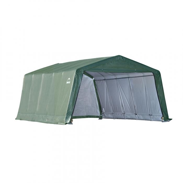 ShelterLogic Peak Style Storage Shelter - 12' x 20' x 8'