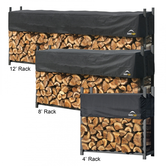 ShelterLogic Ultra-Duty Firewood Rack-In-A-Box with Cover