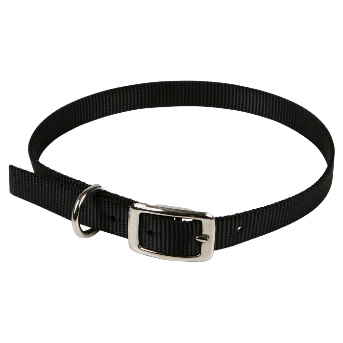 3/4 inch Goat Collar (black)