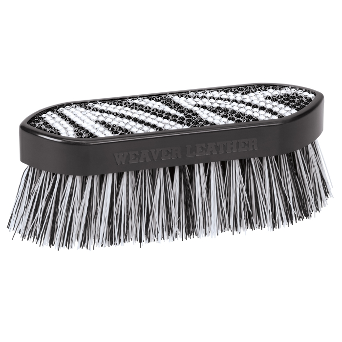 Weaver Leather Zebra Bling Brush - Large