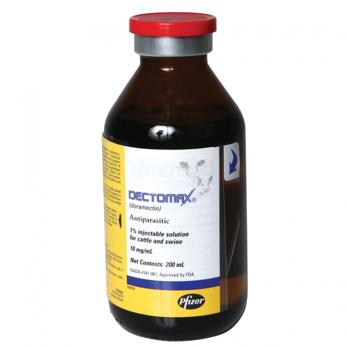 Dectomax 1% Injectable (Pfizer) - 200 ml