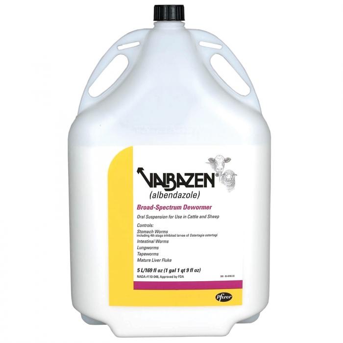 Valbazen Suspension (Pfizer) - 5 Liter