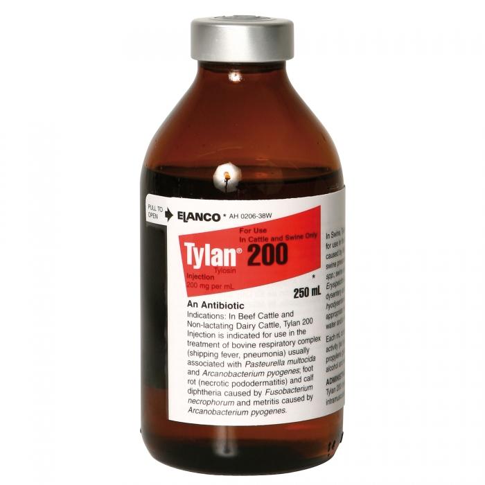 Tylan 200 (Elanco) - 250 mL