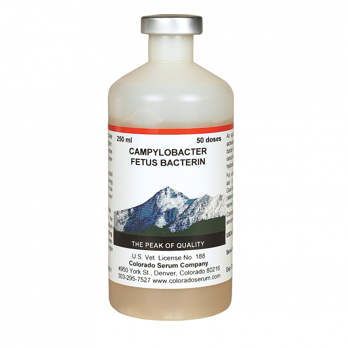 Campylobacter Fetus Bacterin-Ovine (Colorado Serum) - 50 Dose