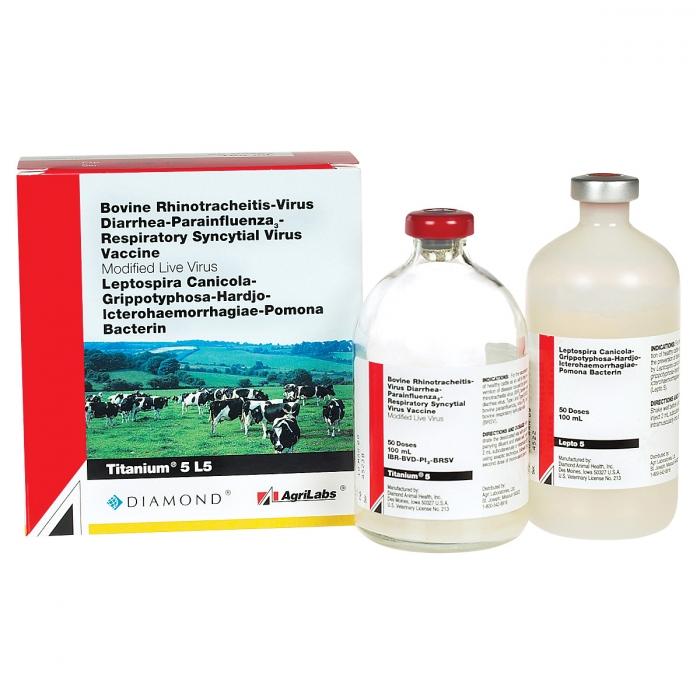Titanium 5 + Lepto 5 (AgriLabs) - 50 Dose