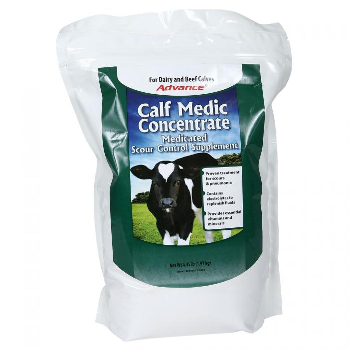 (R/x) Calf Medic Concentrate® (Milk Specialties)