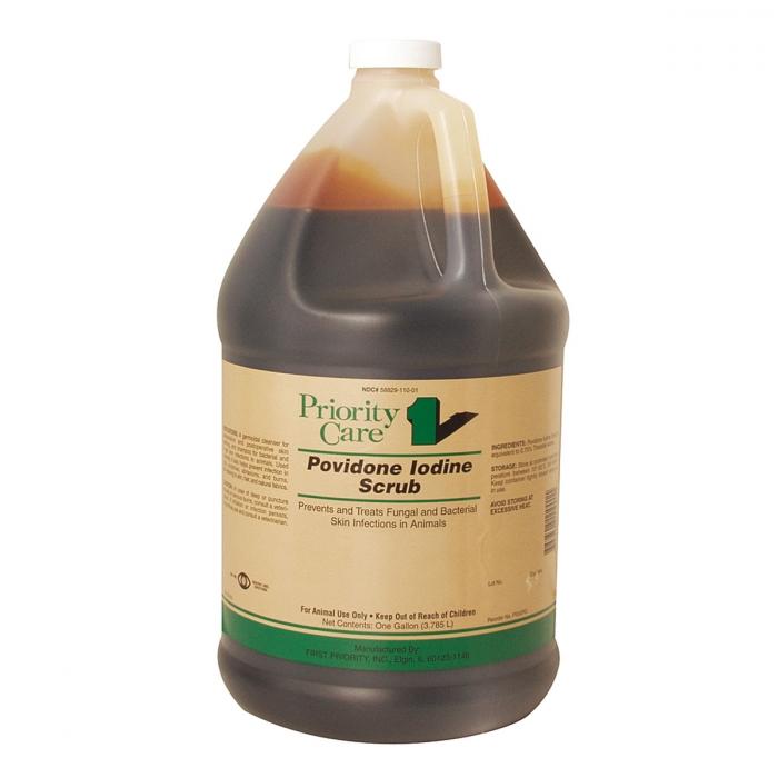 Povidone Iodine Scrub (Priority Care) - Gallon
