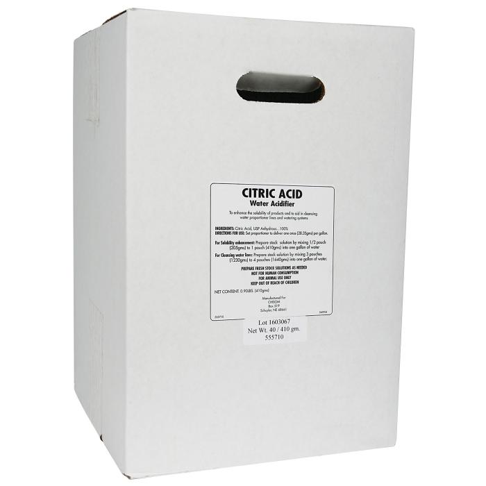 Citric Acid - Case/40 Packs/410 gm