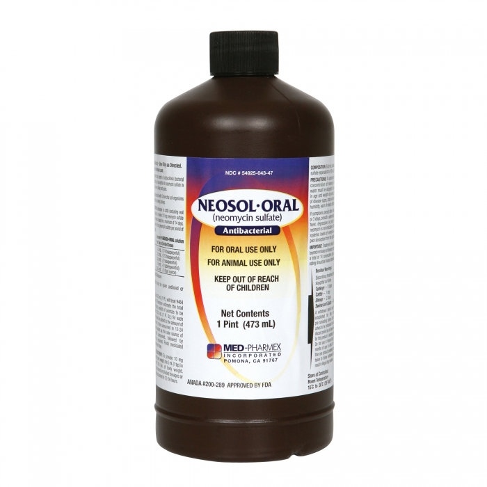 Neomycin Oral Solution (MED Pharmex)