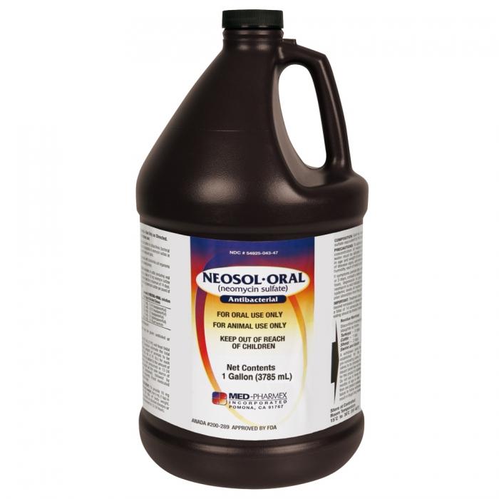 Neomycin Oral Solution (MED Pharmex) - Gallon