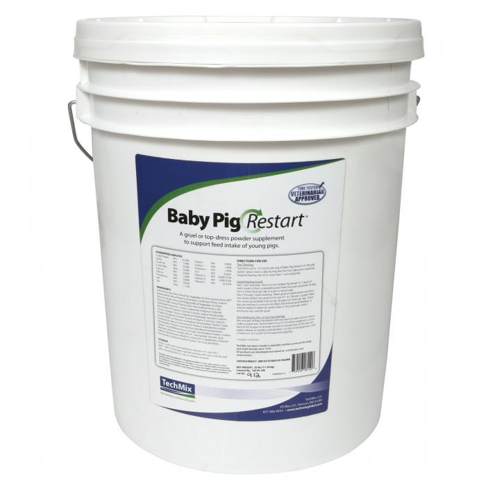 Baby Pig Restart (Techmix) - 25 lbs.