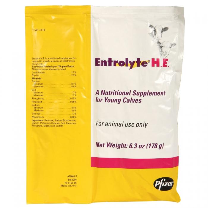 Entrolyte HE (Pfizer)