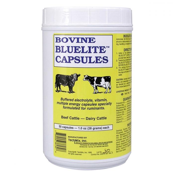 Bovine Bluelite Capsules (Techmix)