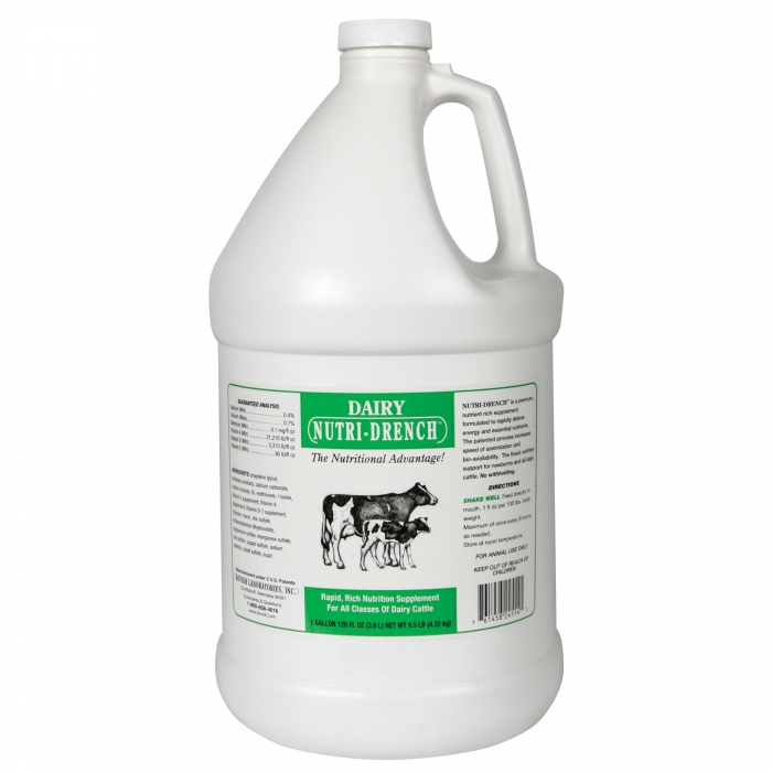Dairy and Beef Nutri-Drench (Bovidr Labs) - Gallon