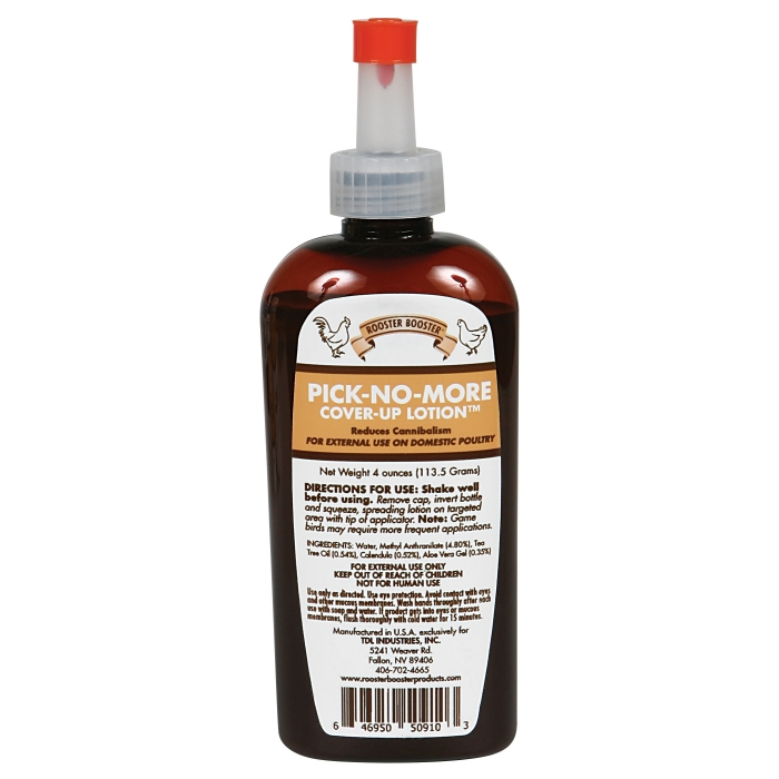 Rooster Booster Pick-No-More Cover-Up Lotion