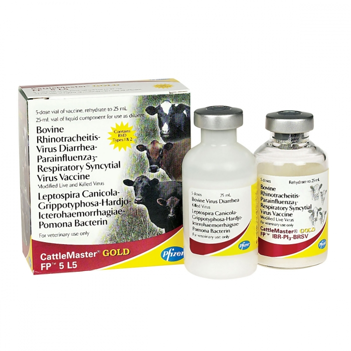 CattleMaster Gold FP 5 L5 (Pfizer) - 5 Dose