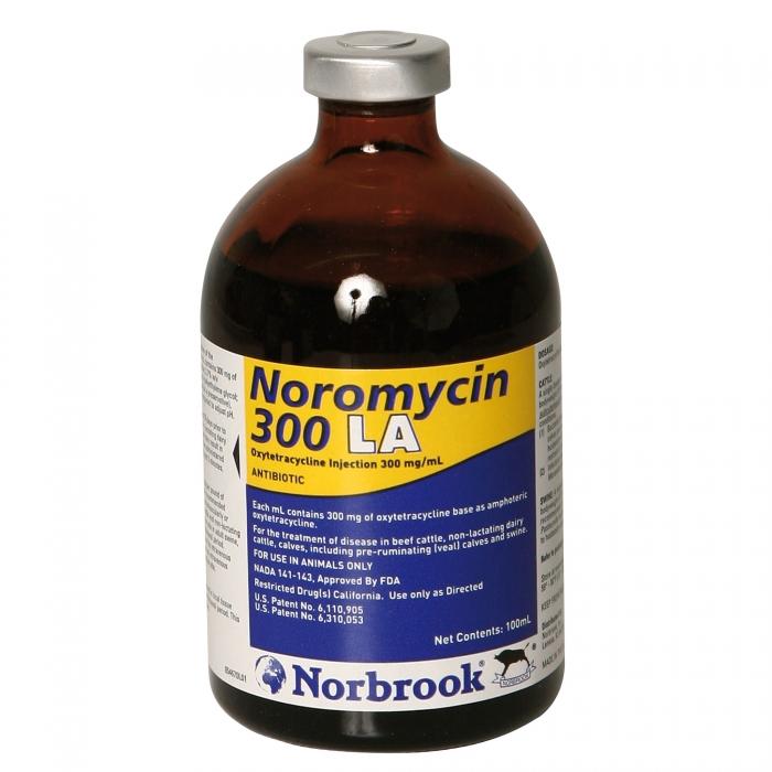 Noromycin 300LA (Norbrook) - 100 mL