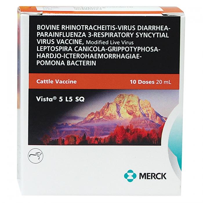 Vista 5 L5 SQ (Intervet) - 10 Dose