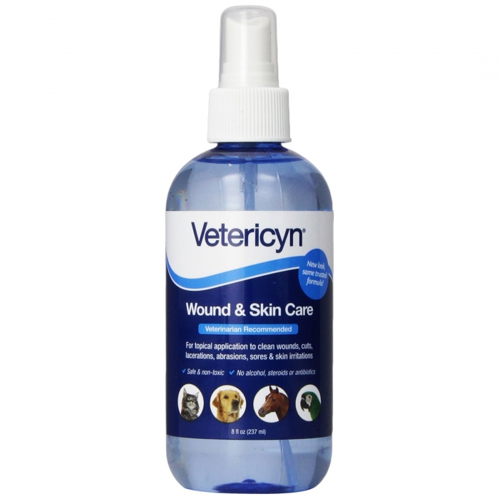 Vetericyn Wound and Infection Care Spray - 8 oz
