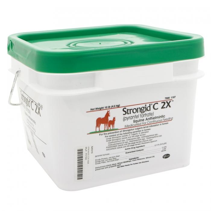 Strongid C 2X (Pfizer)