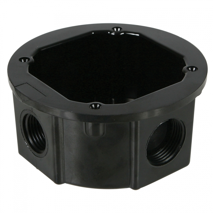 12 inch Standard Non-Metallic Junction Boxes - 1/2 inch and 3/4 inch Knockouts